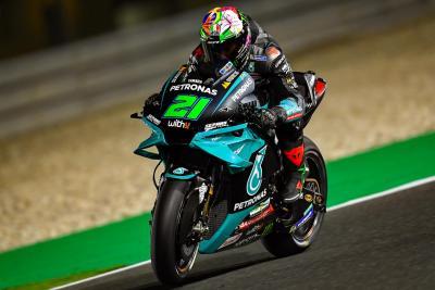 MotoGP 2021: Morbidelli in testa nelle FP1 del Qatar