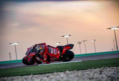 Le due Ducati davanti a tutti nelle FP2 del Qatar, Miller al top