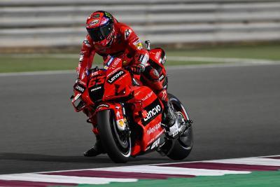 È di Bagnaia la prima pole della MotoGP 2021, Rossi 4°