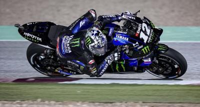 Viñales tinge di blu Losail, sua la prima gara della MotoGP 2021