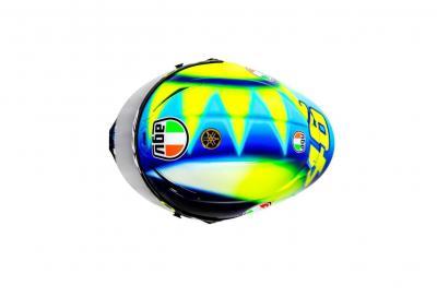 Il nuovo casco di Valentino Rossi