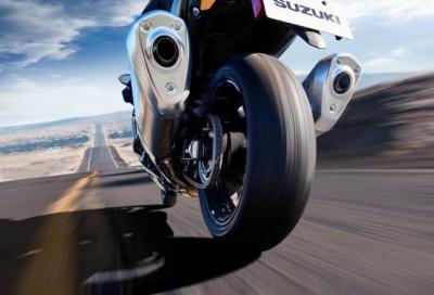 Suzuki sceglie Bridgestone per la Hayabusa