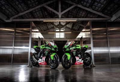 Rea e Lowes svelano la nuova Ninja del Kawasaki Racing Team