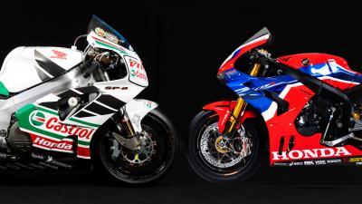 Honda Superbike: le livree che hanno fatto la storia