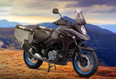 Suzuki V-Strom 650: estensione di garanzia e kit touring in omaggio