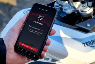 Nasce Triumph SOS: il sistema di emergenza via smartphone