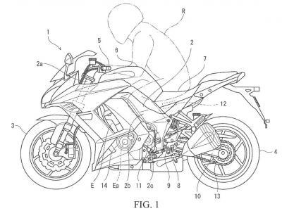 Kawasaki al lavoro sul cambio quickshifter di nuova generazione