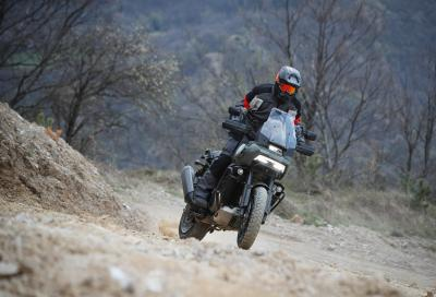 Harley-Davidson Pan America 1250: il test in off road