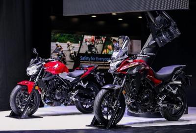 Nuove Honda CB400F e CB400X