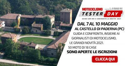 Tester Day: nuove moto, nuove categorie, nuovi posti disponibili!