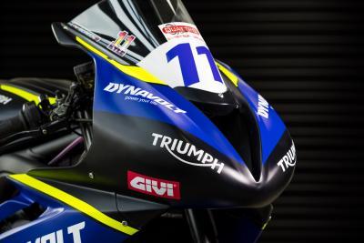 Svelata la Dynavolt Triumph Street Triple 765 RS
