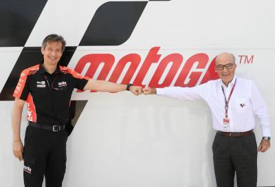 Aprilia in MotoGP fino al 2026. Dal prossimo anno con una squadra ufficiale