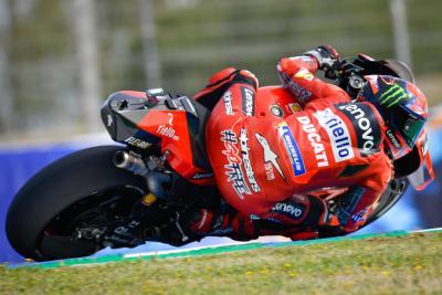 Le FP2 di Jerez vanno a Bagnaia, Marquez fuori dalla top ten