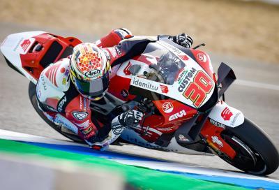 Nakagami firma le FP3 di Jerez, Marquez cade ed è fuori dalla Q2