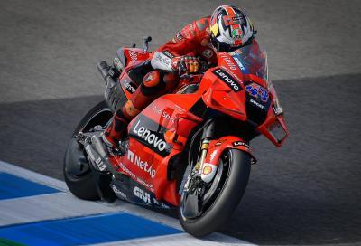 Jerez si tinge di Rosso: vince Miller, Bagnaia 2° è il nuovo leader del mondiale