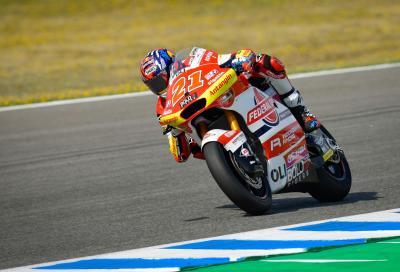 Moto2, GP di Spagna: Di Giannantonio scappa e vince, Bezzecchi 2°