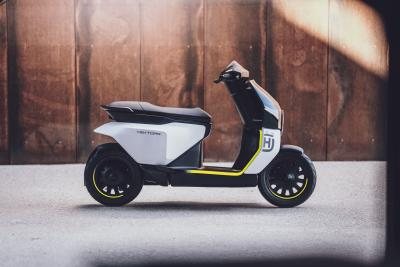 Vektorr, concept scooter di Husqvarna