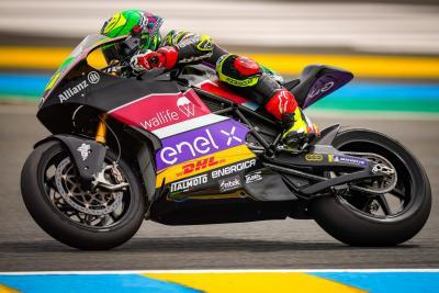 Granado beffa Zaccone e vince la gara della MotoE