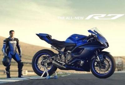 Yamaha R7 2022: ecco le prime foto!