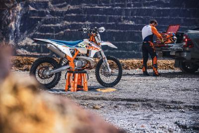 KTM presenta la gamma enduro EXC 2022