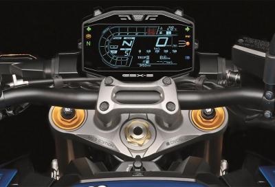 La nuova GSX-S1000 debutta in un'edizione limitata a 5 esemplari