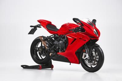MV Agusta presenta la nuova F3 Rosso