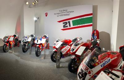 Le moto di Bayliss in mostra per i 20 anni dal primo titolo