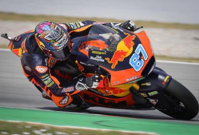 Moto2, Catalunya: qualifiche alle KTM Ajo, pole per Gardner
