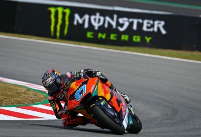 Moto2, le KTM Ajo conquistano anche il GP di Catalunya: vince Gardner