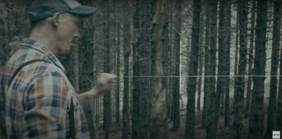 Cavi tesi tra gli alberi, un reato che diventa uno spot (di pessimo gusto)