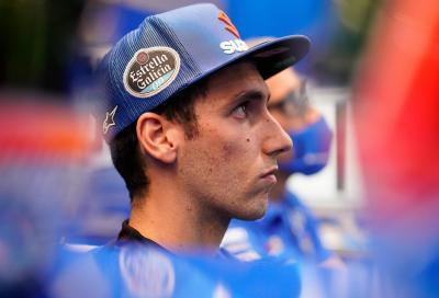 Rins cade in bici e si frattura il braccio, salta il GP di Catalunya