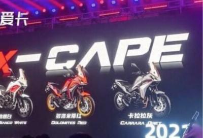 La Moto Morini X-Cape 650 arriva sul mercato (cinese)