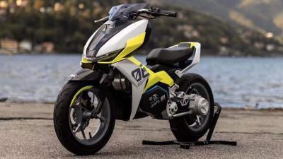 Il Kymco F9 diventa il Felo FW06, scooter elettrico con il cambio