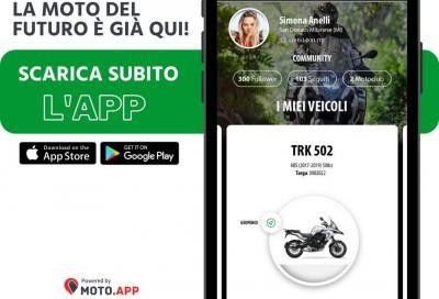 """""""myBenelli"""", la nuova App per la gamma 2021"""
