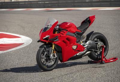 Accessori Ducati Performance per la Panigale V4
