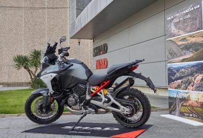 Ducati sceglie Shad-NAD per la Multistrada V4