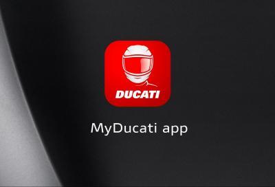 L'App MyDucati si evolve con nuove funzioni