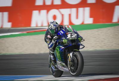 Yamaha imprendibili ad Assen: pole da record per Viñales