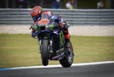 Doppietta Yamaha ad Assen, vince Quartararo in solitaria