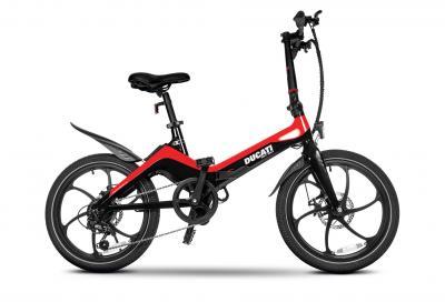 Ducati MG-20, l'e-bike pieghevole in magnesio