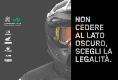ANCMA contro il mercato delle moto da cross di origine illecita