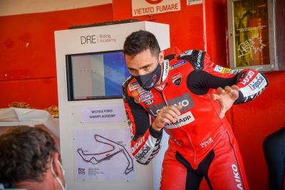 Scendi in pista il 16 luglio, a Misano, con i piloti Ducati