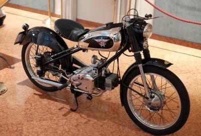 Le moto Rumi in mostra a Bergamo dal 24 luglio al 31 ottobre