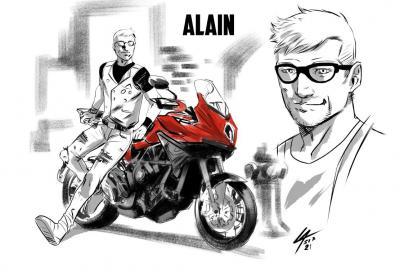 MV Agusta protagonista di un fumetto