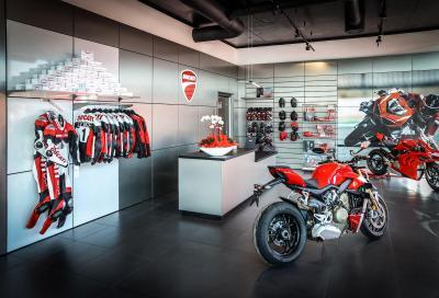 Ducati inaugura un nuovo concessionario a Rimini