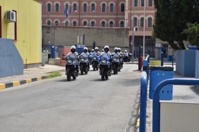 11 BMW F 750 GS consegnate alla Polizia Locale di Taranto
