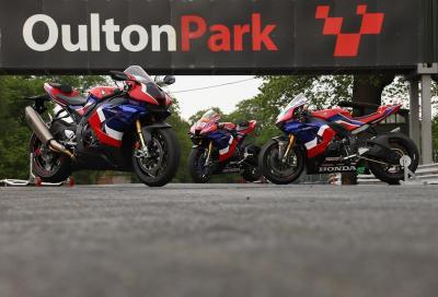 Honda Fireblade SP di serie vs CBR1000RR-R British Superbike
