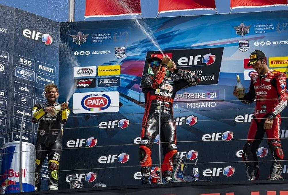 Pirro show in Misano: lastly to victory