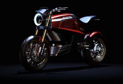 """Ducati 860-E Concept, la Rossa """"green"""""""