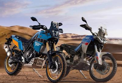 Aprilia Tuareg 660 vs Yamaha Tènèrè 700